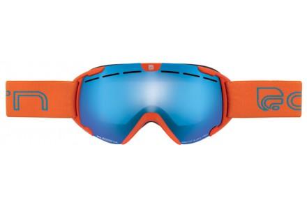Masque de ski pour enfant CAIRN Orange SCOOP Orange Mat SPX 3000 IUM