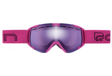 Masque de ski pour enfant CAIRN Rose SCOOP Rose Fluo SPX 3000 IUM