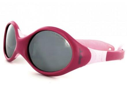 Lunettes de soleil pour bébé JULBO Rouge Looping 3 pourpre / rose Spectron 4 baby