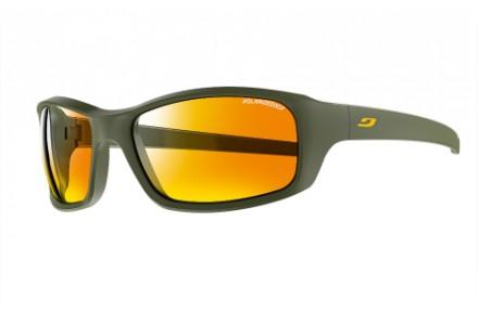 Lunettes de soleil mixte JULBO Vert Slick Army / Orange - Polarized 3 CF