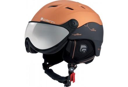 Casque de ski mixte CAIRN Marron SPECTRAL VISOR MAGNET 171 58/59