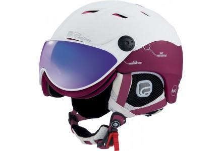 Casque de ski mixte CAIRN Blanc SPECTRAL VISOR MAGNET IUM 143 60/61