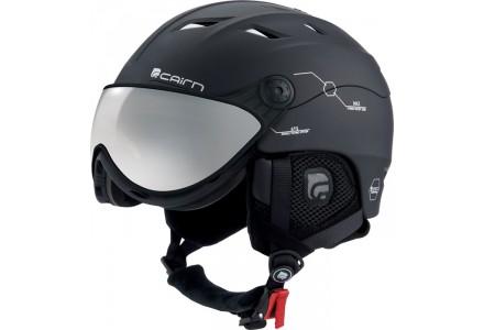 Casque de ski mixte CAIRN Noir Mat SPECTRAL VISOR MAGNET 202 58/59