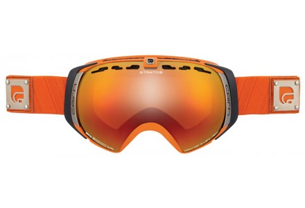 Masque de ski mixte CAIRN Noir STARTOS Orange Mat SPX 3000 IUM