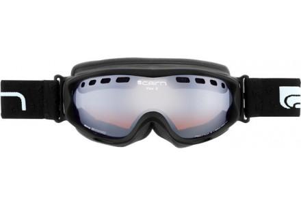 Masque de ski pour femme CAIRN Noir Mat VISOR OTG Noir Mat SPX 3000