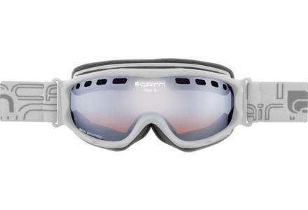 Masque de ski pour femme CAIRN Blanc VISOR OTG Blanc Mat SPX 3000