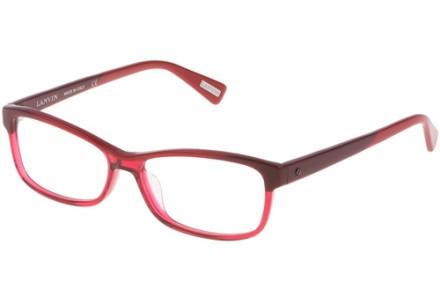 Lunettes de vue pour femme LANVIN Rouge VLN 663 0L00 54/15