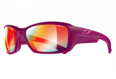 Lunettes de soleil mixte JULBO Violet Whoops Prune brillant - Zebra Light Fire