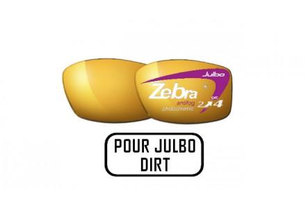 Lunettes de soleil mixte JULBO Noir Verres ZEBRA pour Julbo DIRT