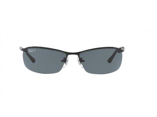 Lunettes de soleil mixte RAY BAN Noir RB TOP BAR 3183 002/81 63/15