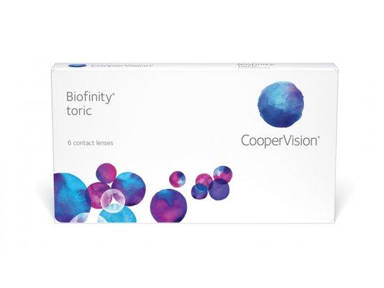 Lentilles COOPERVISION Biofinity Toric