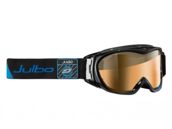 Masque de ski mixte JULBO Noir REVOLUTION OTG Noir / Bleu cameleon