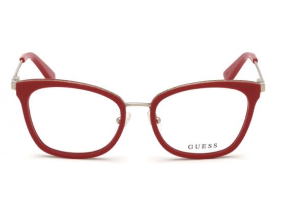 Lunettes de vue pour femme GUESS Rouge GU 2706 068 52/17