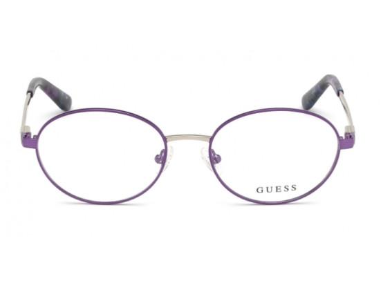 Lunettes de vue pour femme GUESS Violet GU 2713 081 52/17
