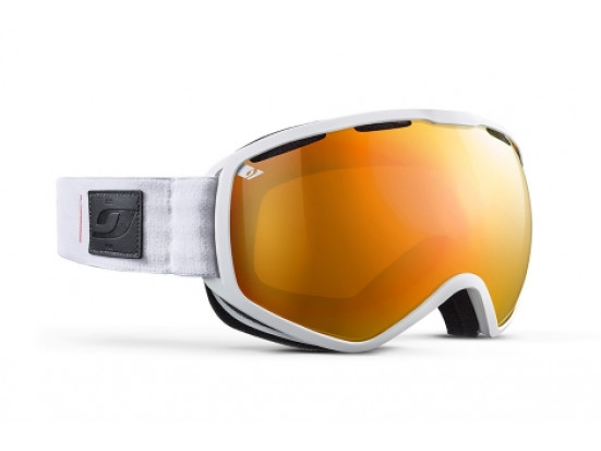Masque de ski mixte JULBO Blanc Atlas Blanc / Orange Spectron 3+ XXL