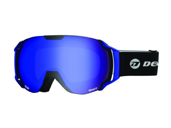 Masque de ski pour homme DEMETZ Noir CARVING Noir Cat 3