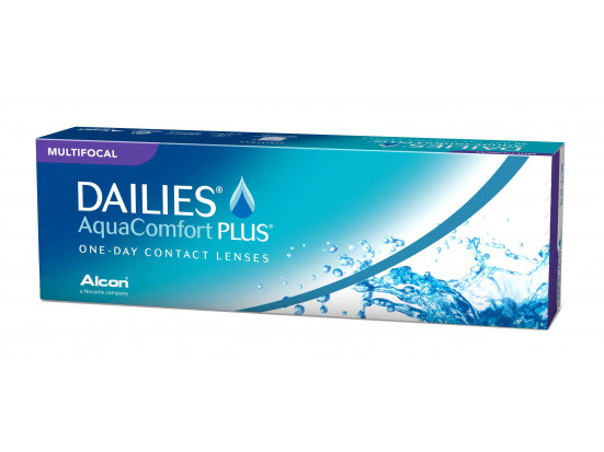Lentilles ALCON - CIBA VISION Dailies AquaComfort Plus Multifocal 30L