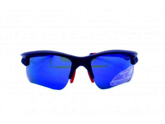 Lunettes de sport mixte DEMETZ Bleu BIKE STAR Bleu Mat 70/17
