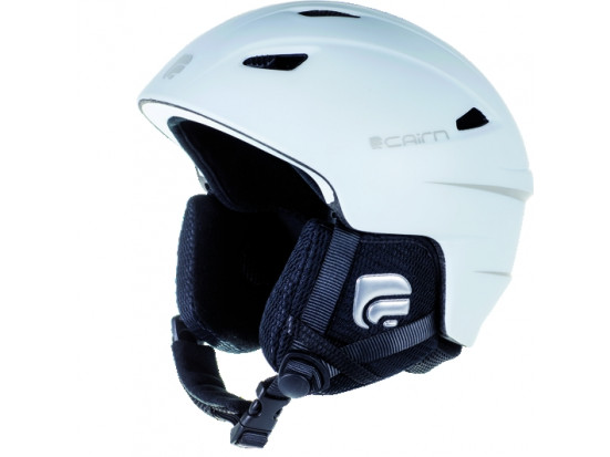 Casque de ski mixte CAIRN Blanc ELECTRON U Blanc Mat 55/56