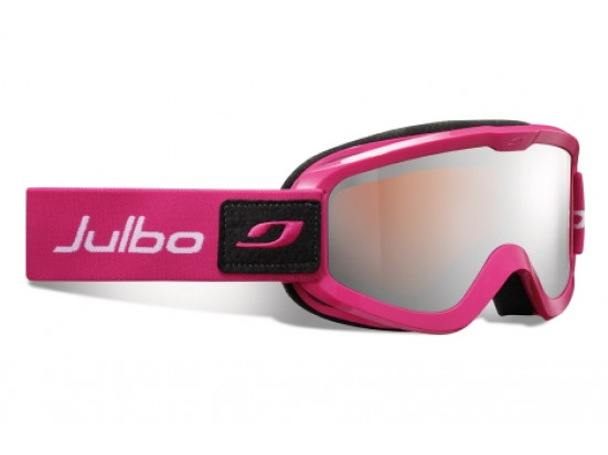 Masque de ski mixte JULBO Rose ERIS ROSE Spectron 3 Miroir
