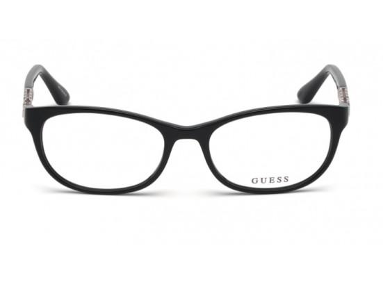 Lunettes de vue pour femme GUESS Noir GU 2688 001 55/18