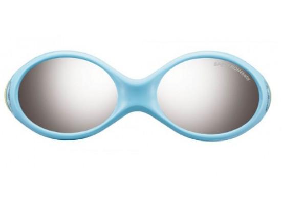 Lunettes de soleil pour enfant JULBO Bleu LOOPING 2 Bleu pastel / Vert pastel - Spectron 4 Baby 42/14