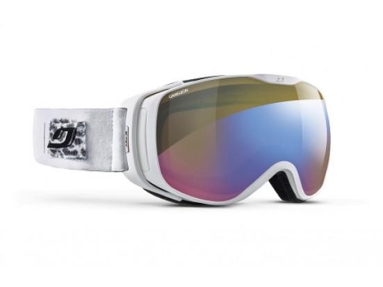 Masque de ski pour femme JULBO Blanc LUNA BLANC Panthère CAMELEON