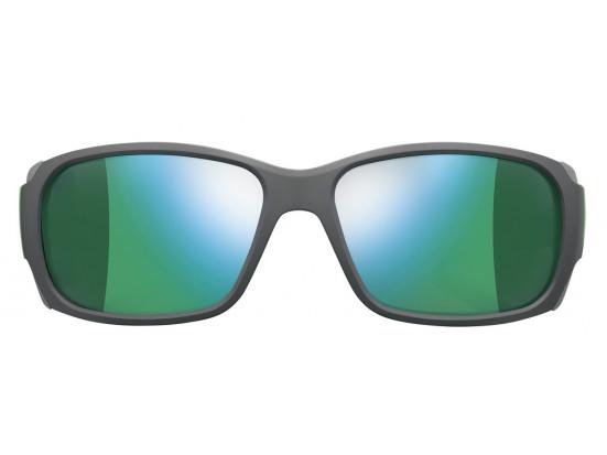 Lunettes de soleil pour homme JULBO Noir CAMINO Ecaille Gris / vert - Spectron 3 CF
