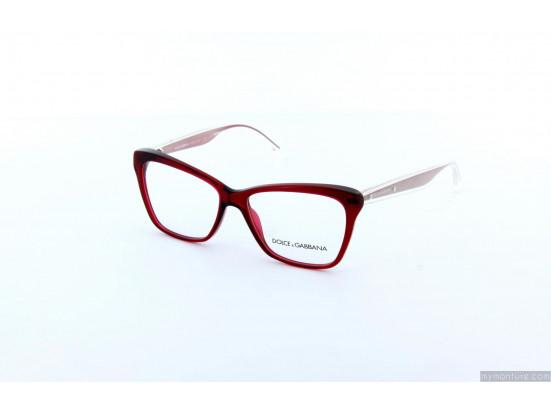 Lunettes de vue pour femme Rouge DG 3140 550-52/14