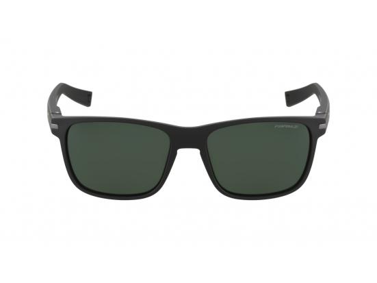 Lunettes de soleil mixte JULBO Noir Wellington Noir Mat - Polarized 3 Vert