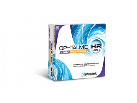 Lentilles OPHTALMIC Ophtalmic HR 1 Day Progressive 90L