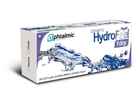 Lentilles OPHTALMIC Ophtalmic Hydrofeel 1 Day 30L