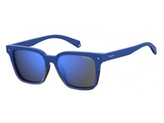 Lunettes de soleil mixte POLAROID Bleu PLD 6044/F/S PJP 55/17