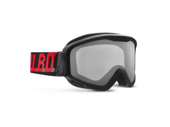 Masque de ski mixte JULBO Rouge PLASMA Noir / Gris / rouge Echo Cat 0