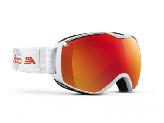 Masque de ski mixte JULBO Blanc QUANTUM Blanc / Orange Spectron 3+ XL