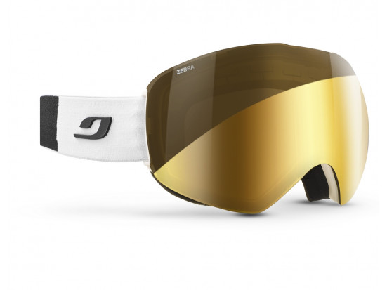 Masque de ski mixte JULBO Blanc SKYDOME Blanc / Noir ZEBRA