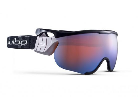 Masque de ski mixte JULBO Noir SNIPER L Noir / Noir Zebra Light Red