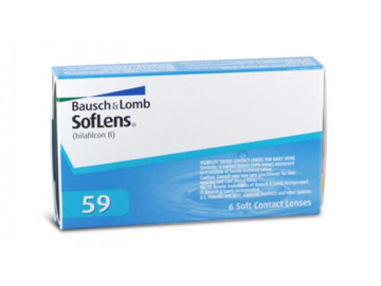 Lentilles BAUSCH & LOMB Soflens 59
