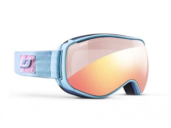 Masque de ski mixte JULBO Bleu STARWIND Bleu Ciel / Rose - Zebra Light Rouge