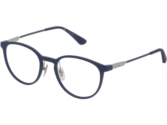 Lunettes de vue pour homme POLICE Bleu Marine VPL 695 0R22 50/20