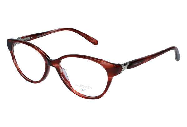 lunettes de vue mauboussin mau 1606 rouge 52 16. Black Bedroom Furniture Sets. Home Design Ideas