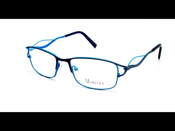 ef4c10327eb99 Lunettes de vue pour femme MARITZA Bleu M 0278 BLEU BLU 51 17
