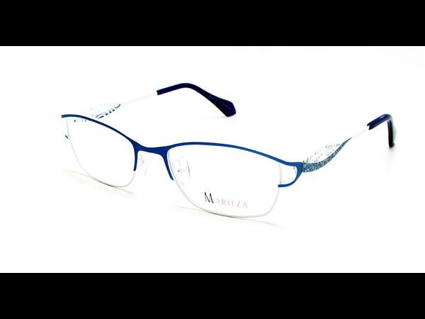 134009e2cf874 Lunettes de vue pour femme MARITZA Bleu M 0279 BLEU CAN 52 17