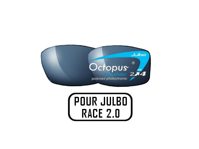 b5e4fbbfd53e97 Lunettes de soleil pour homme JULBO Noir Verres OCTOPUS pour monture Julbo  RACE 2.0