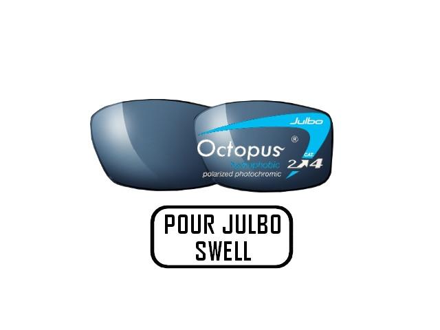 Lunettes de soleil pour homme JULBO Noir Verres OCTOPUS pour monture Julbo  SWELL ce1641e943e0