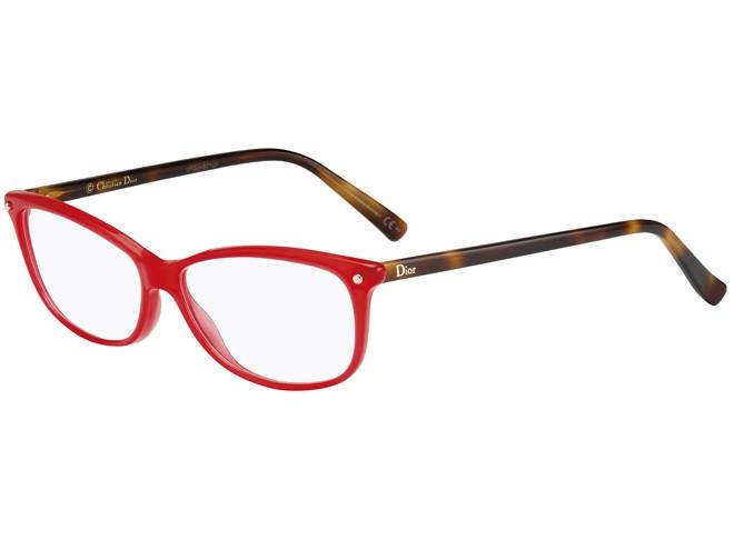 Lunettes de vue pour femme DIOR Rouge CD 3271 QYB 55 13 f8ff531e327b