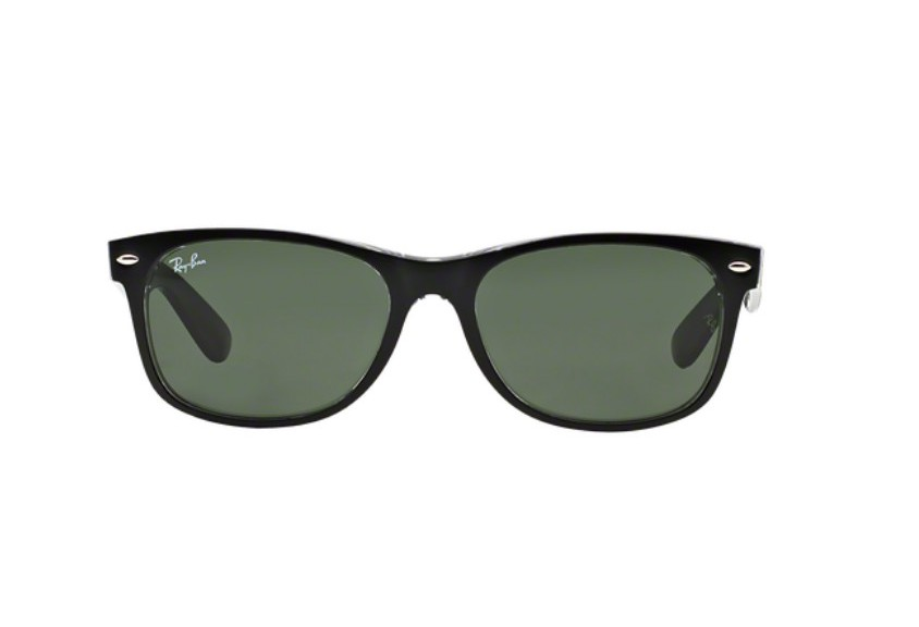 Lunette de soleil ray-ban new wayfarer color mix RB 2132 6052 55 QIVVzmC