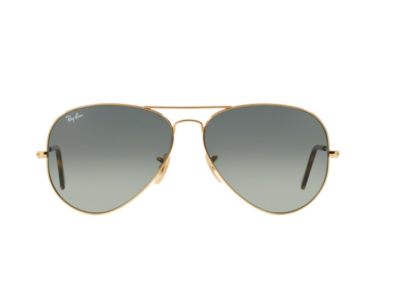 Lunettes de soleil mixte RAY BAN Or RB 3025 AVIATOR 181 71 58 14 a54e8bc11f75
