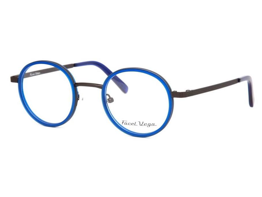 Lunettes de vue pour homme FACEL VEGA Bleu FV 7133 C2 43 25 772dc56b93a5