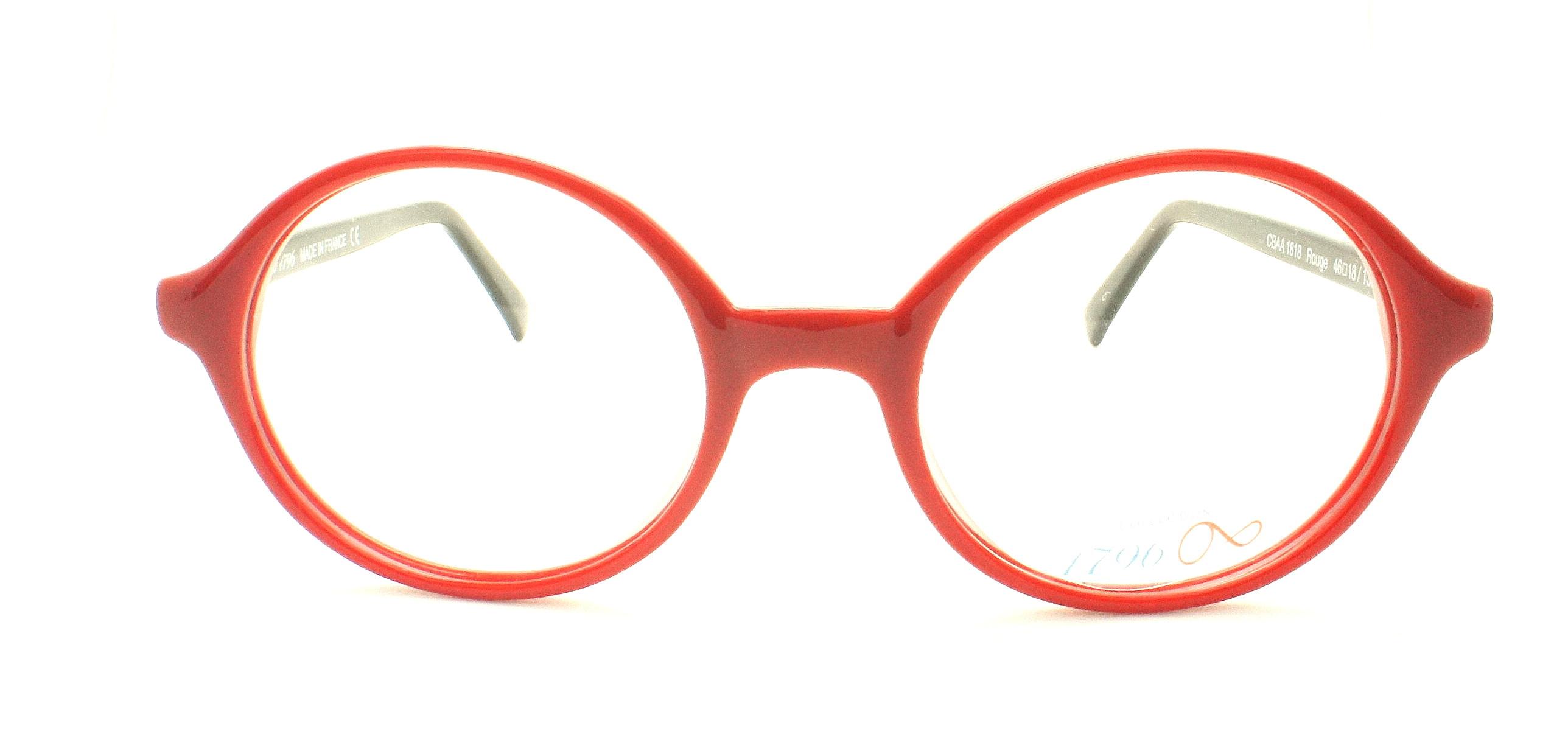 lunettes de vue 1796 cbaa1818 rouge 46 18. Black Bedroom Furniture Sets. Home Design Ideas